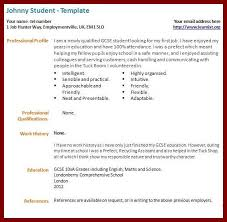 How To Do A Resume For Your First Job by My First Resume Template First Job Resume Template Sample Resume