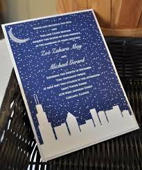 wedding invitations chicago chicago skyline wedding invitations we like design