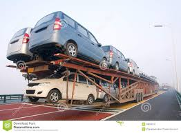 car carrier truck car carrier truck stock photo image 39824110