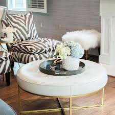 Black And White Chair And Ottoman Design Ideas Black And White Living Room Zebra Accent Chairs Design Ideas