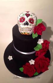 skull wedding cakes skull wedding cake 113 cakes cakesdecor
