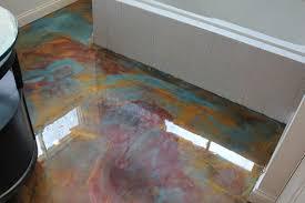 unique bathroom flooring ideas fantastic painted concrete floors and finishes scored concrete