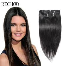 Inexpensive Human Hair Extensions by Online Get Cheap Human Hair Extensions Clips Aliexpress Com