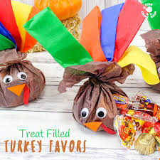 and easy filled turkey favors craft room