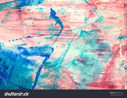 original abstract acrylic color painting on stock illustration