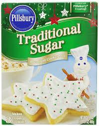 Pillsbury Sugar Cookies Halloween by Amazon Com Pillsbury Traditional Sugar Cookie Mix 17 5 Ounce