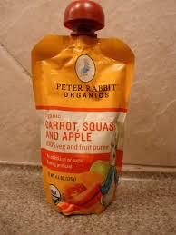 rabbit organics reviews rabbit organics carrot squash and apple puree