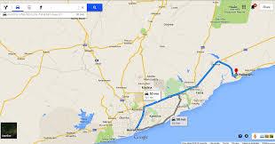 Accra Ghana Map 160 Plots Of Land For Sale Prampram Sellrent Ghana