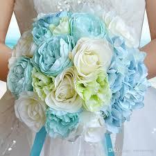 blue wedding flowers 2017 new sky blue wedding flowers wedding bouquets