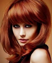 medium length hairstyles brown hair medium length hairstyles for thick hair with bangs for brown hair