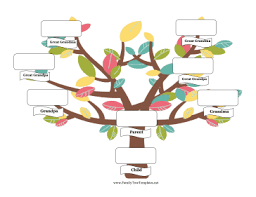 parent family tree template