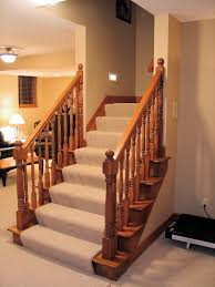 innovative basement stairs finishing ideas finish basement stairs