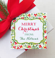 personalized christmas gifts personalized christmas gift tags fun for christmas