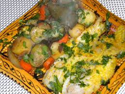 cuisiner poisson blanc poisson blanc et légumes au four bienvenue chez