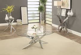 Criss Cross Coffee Table Laila Glass Top Coffee Table W Criss Cross Base