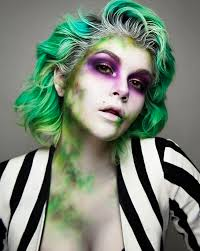 Halloween Hair Color Washes Out - halloween make up slay