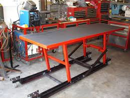 Motorcycle Bench Lift Motorcycle Lift Table Material Miller Welding Discussion Forums