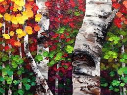 tree paintings melissa mckinnon artist