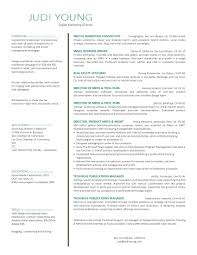 Digital Media Resume Examples by Marketing Director Resume Berathen Com