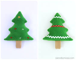 free christmas tree softie sewing pattern sewing patterns