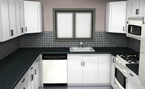 u shaped kitchen designs for small kitchens granite countertop