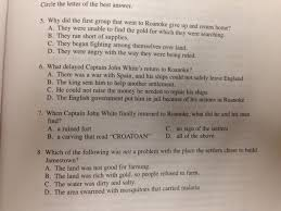 chapter 6 early english settlements mr dowling u0027s social