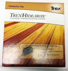 amazon com trex hideaway universal deck clips 50 sqft 90ct