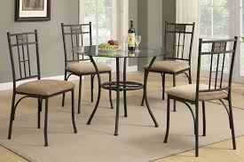 all glass dining room table round glass dining table set