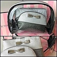 victoria s secret sparkle cosmetic bag trio
