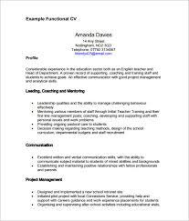 cv help functional resume template pdf sle functional cv 9 documents in
