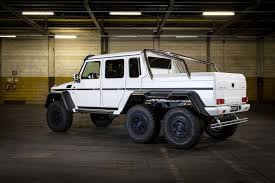 mercedes 6x6 mercedes benz g63 amg 6 6 gets tuned by carlsson 2 images