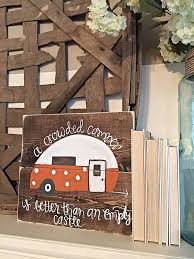 Camping Decorations 238 Best Camper Crafts Images On Pinterest Happy Campers