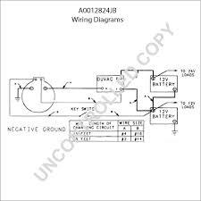 a0012824jb alternator product details prestolite leece neville