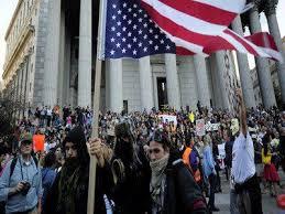 مظاهرات امريكية