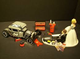mechanic cake topper auto mechanic ford model a hot rod wedding cake topper