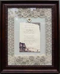 Wedding Keepsake Gifts 15 Best Wedding Invitations Framed Keepsake Images On Pinterest