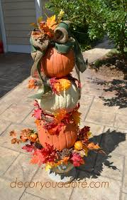pumpkin topiary decor you adore easy diy pumpkin topiary tutorial