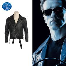 Arnold Schwarzenegger Halloween Costume Movie Leather Jackets Promotion Shop Promotional Movie Leather