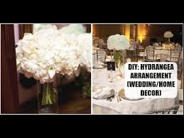 Home Decor Flower Arrangements Diy Hydrangea Flower Arrangement Home Decor Wedding Diy Youtube