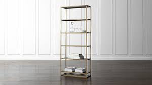remi large bookcase crate and barrel