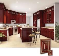 cherry cabinet kitchen home decoration ideas