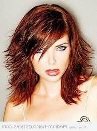 medium style haircut with layers women medium haircut