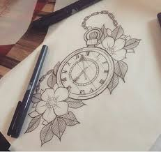 best 25 pocket watch tattoo design ideas on pinterest watch