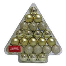 gold christmas ornaments u0026 tree decorations target