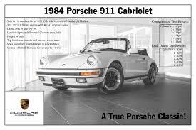 porsche 911 3 2 for sale 1984 porsche 911 for sale in colorado springs co p2326a