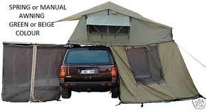 Rooftop Awning 1 4 Roof Top Tent Camper Ripstop Trailer Rooftop Tent 2 5 M