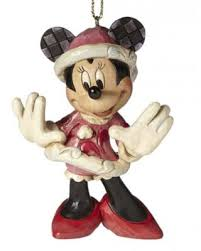 santa minnie mouse ornament jim shore disney traditions from our