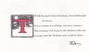 Twas The Night Before Halloween Poem The Marlowe Bookshelf Twas The Night Before Christmas Jessie