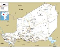 Map Of Maine Cities Maps Of Niger Detailed Map Of Niger In English Tourist Map