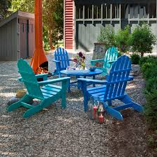 Recycled Plastic Adirondack Chairs Classic Adirondack Conversation Set By Poly Wood Inc Adirondack
